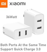Xiaomi 36W Dual USB QC 3.0 Wall Charger
