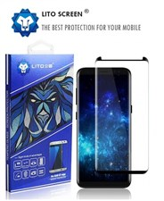 Litoscreen Short full coverage tempered glass screen protector for S8 S8+ Note8