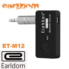 Earldom Wireless Bluetooth Receiver 3.5mm Jack Audio Music Car Aux Adapter