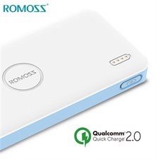 ROMOSS Polymos Air 10s Qualcomm Quick Charge 2.0 10000mAh Dual Way Quick Charge Power Bank