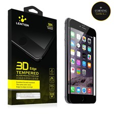 Lention® 0.15mm 3D Curve Edge Tempered Glass Screen Protector Arc Edge for iPhone 6 / 6+