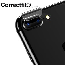 Correctfit Rear Camera Glass Protector for iPhone 7 7+ 8 8+