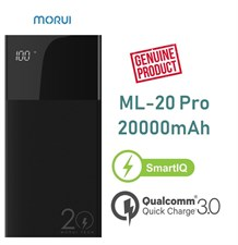 Morui ML-20 Pro 20000mAh Qualcomm 3.0 Power Bank