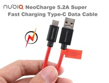 Nubia NeoCharge 5.2A Type-C Super Fast Charging Data Cable