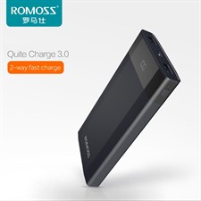 ROMOSS DP10 Quick Charge 3.0 Power Bank 10000mAh 2-Way Fast Charge Support QC3.0