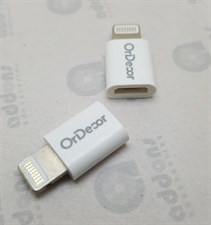 OrDecor Micro USB to Lightning Adapter