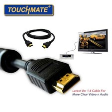 Touchmate® 5m High Speed HDMI Cable GOLD PLATED