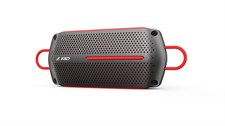 F&D W12 Portable Bluetooth Speaker Water-Proof w/ 5+ Hour Playtime (BLACK & RED)