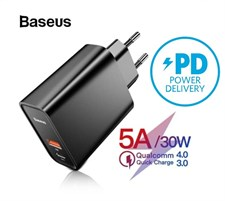 Baseus Quick Charge 4.0 30W PD 5A Supercharge Fast Charger