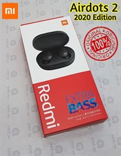 100% Original Xiaomi Redmi AirDots 2 Wireless Bluetooth Headset - Black