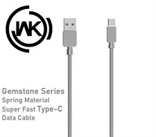 WK WDC 065 Type C Gemstone Cable - Grey