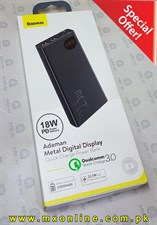 Baseus Adaman Metal Digital Display Quick Charge Power Bank 22.5W 10000mAh