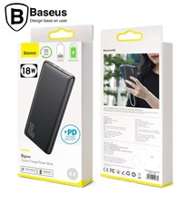 Baseus Bipow 10000mAh 18W USB C PD & QC 3.0 Slim Power Bank