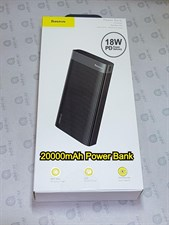 Basesu Parallel 20000mAh 18W PD3,0 + QC3.0 With Digital Display Power Bank
