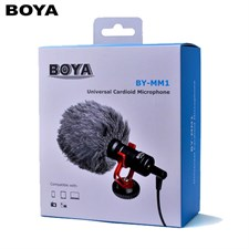 BOYA BY-MM1 Universal Cardiod Shotgun Microphone