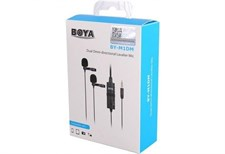 BOYA by-M2 Clip-on Lavalier Microphone Lightning Port for iOS Devices