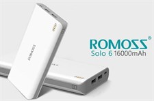 Romoss® (Solo 6) 16000 mAh Power Bank