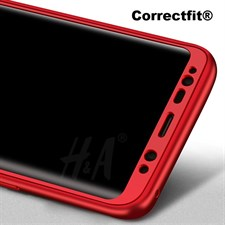 Correctfit® luxury 360 Degree Full Protective Silicon Phone Case