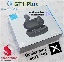 Haylou GT1 Plus Qualcomm QCC3020 Bluetooth 5.0 TWS Earbuds - Black