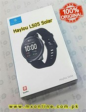 Haylou LS05 Solar Smart Watch Global Version - Black