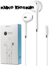 Kuke® Design i7 Music High Bass Lightning Headphone For iPhone 7 7+ 8 8+ X