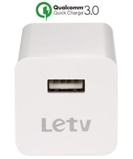 100% Original Letv 3Amp Quick Charge 3.0 Adapter