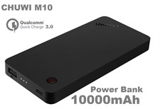 CHUWI M10 3A Quick Charge QC3.0 10000mAh Type C Dual Output Power Bank