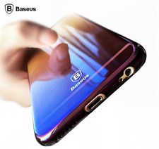 Baseus® Color Gradient Glaze Case For iPhone X