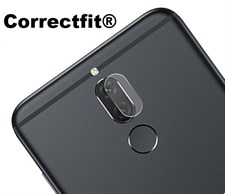 Correctfit Huawei Mate 10 Lite Back Camera Lens Tempered Glass Protector Film