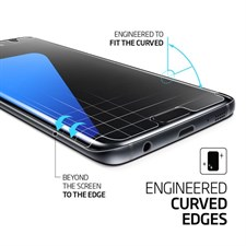 Correctfit® Galaxy S7 Edge Matte Screen Protector Curved
