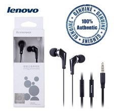 Original Lenovo LH102 Earphone 3.5mm with Mic