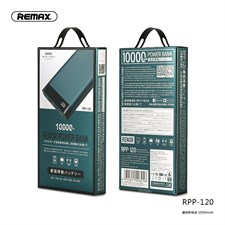 Remax RPP-120 Ultra Slim 10000mAh Power bank with LED Display