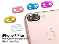 Correctfit Camera Lens Protector Metal Cover For iPhone 7 Plus