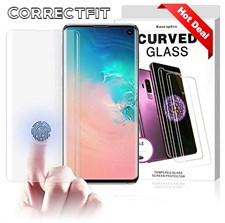 Correctfit UV Full Glue 9H Tempered Glass Screen Protector