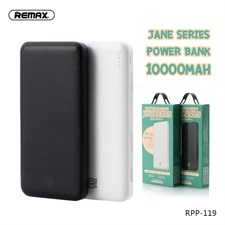 Remax® Jane Series 10000mAh Li-polymer Dual USB Power Bank with Type-C/Micro USB Inputs