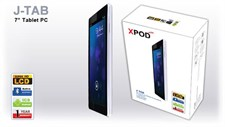 "XPOD J-TAB 7"" Tablet PC"